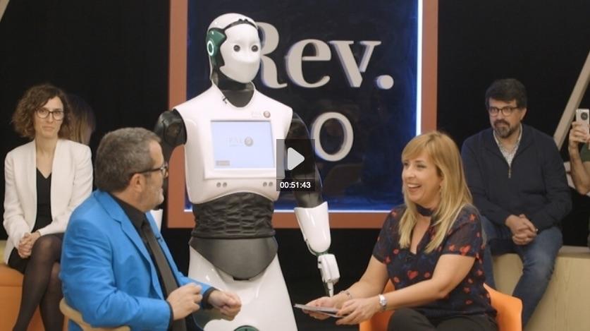 Els robots ens treuran la feina? Revolució 4.0 TV3 Xantal Llavina
