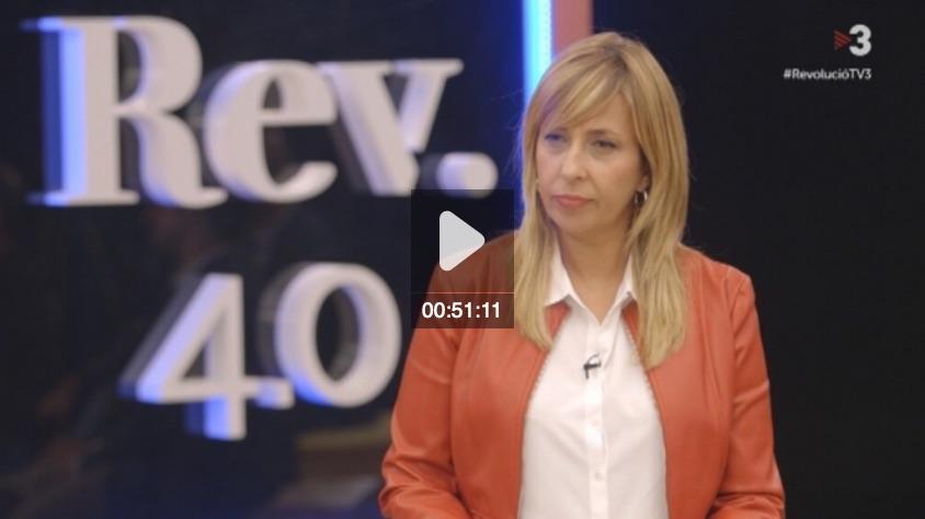 Viurem en megaciutats al 2050 Revolució 4.0 TV3 Xantal Llavina